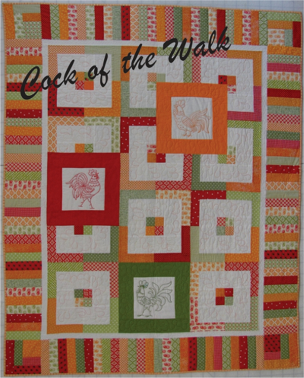 Cock of the Walk Quilt Pattern
