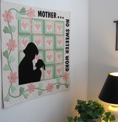 Mother Daughter Wall Hanging