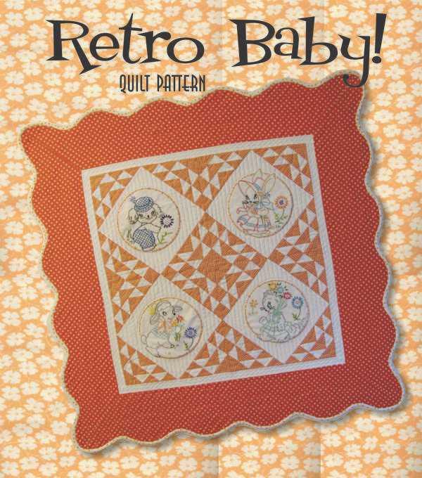 Retro Baby Quilt
